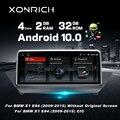 Автомобильный мультимедийный плеер, HD экран 10,25 дюйма, Android 10, для BMW X1 E84 2009 ~ 2015, iDrive, стерео, аудио плеер, GPS-навигация (без CD DVD)