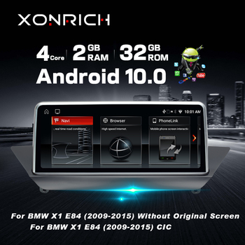 10.25HD Screen Android 10 For BMW X1 E84 2009~2015 iDrive Car Stereo Audio Player GPS Navigation Multimedia (No CD DVD) image