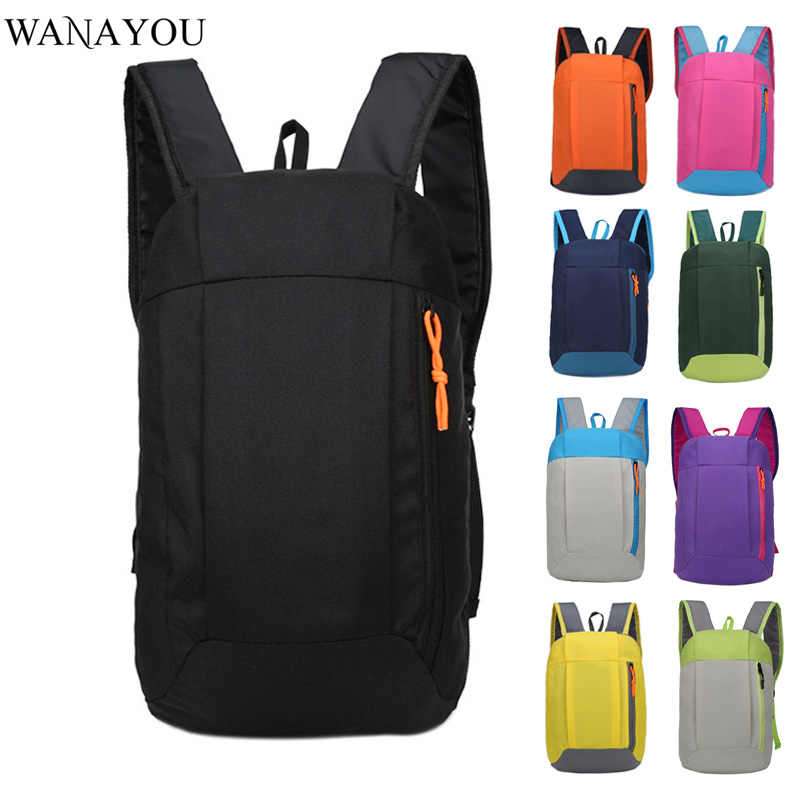10L Folding Ultralight Backpack,Outdoor Sport Backpack for Hiking Trekking,Man Woman Travel Backpack,Multifunction Storage Bag
