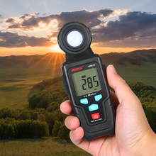 Mestek Niveau Instrument Mini Digitale Lux Meter Lcd Display Handheld Auto Range Illuminometer Luminometer Photometer Luxmeter(China)