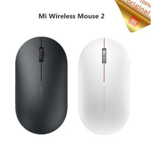 Image 1 - Originale Xiaomi Mi Mouse Senza Fili 2 WiFi link 1000DPI 2.4GHz Ottico Mini Mouse Per Notebook Ufficio di Gioco Portatile mouse