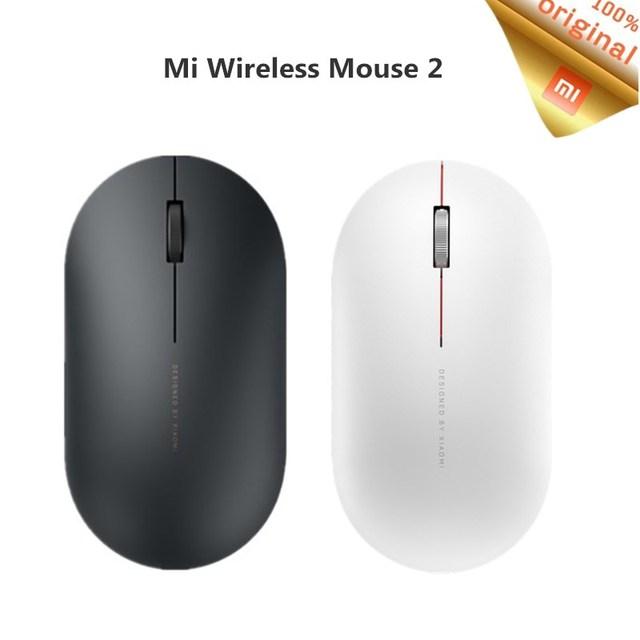 Originale Xiaomi Mi Mouse Senza Fili 2 WiFi link 1000DPI 2.4GHz Ottico Mini Mouse Per Notebook Ufficio di Gioco Portatile mouse