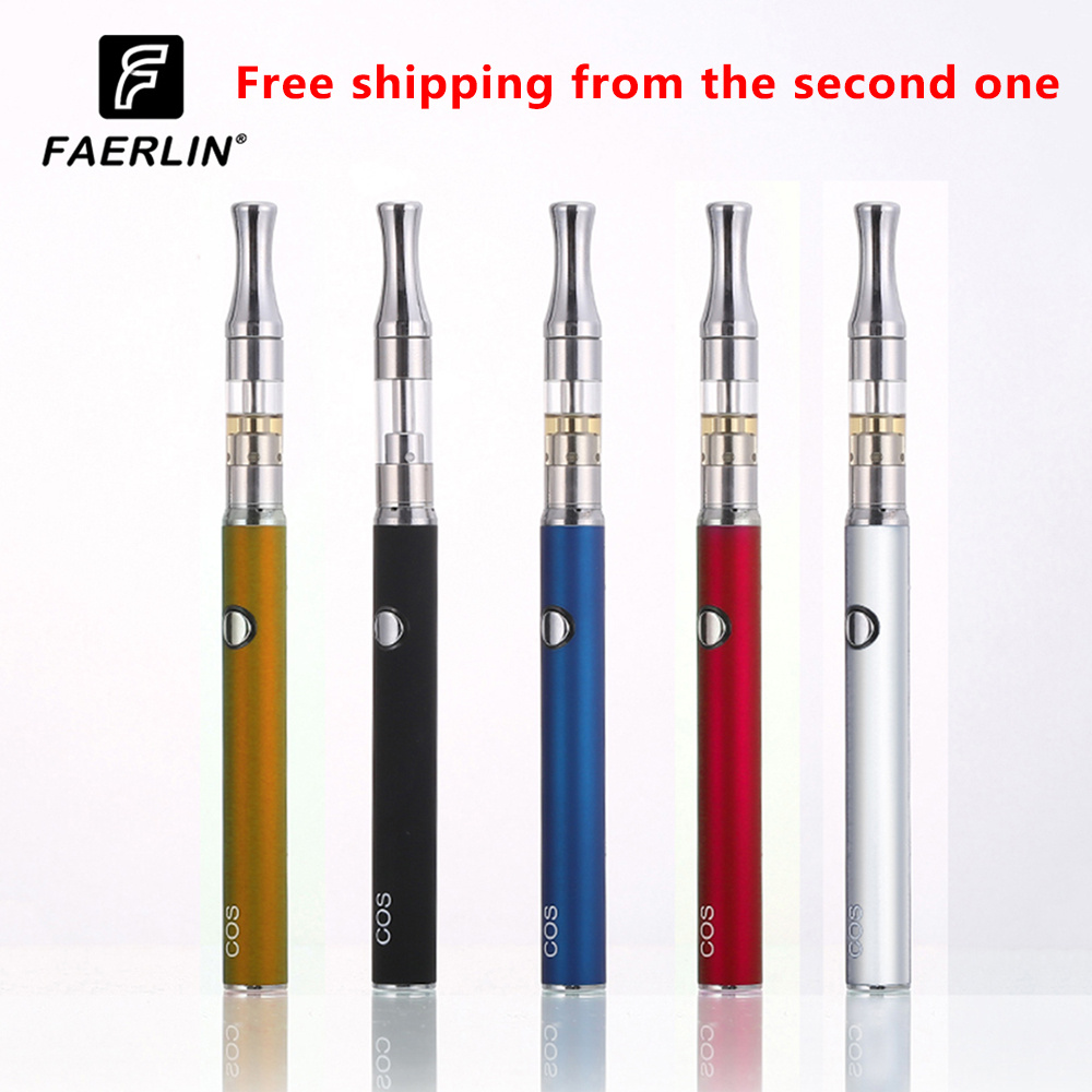 FAERLIN COS Kit CBD MOD Vape Pen With Cos Preheat Battery 450mAh 510 Thread  For Thick Oil Adjustable  Starter