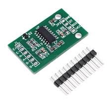 5 pièces double canal HX711 capteur de cellule de charge Module capteurs de pression de pesage 24Bit capteur de précision AD pour Arduino bricolage électronique