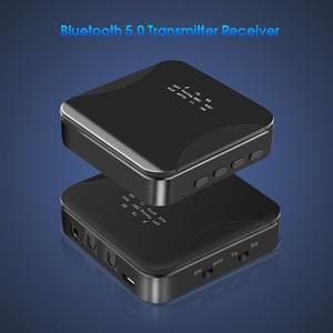 Image 3 - 3.5 ミリメートル HD Bluetooth 5.0 オーディオトランスミッタレシーバ CSR8675 ワイヤレス aptx オーディオ自動アダプタテレビ車 aptX HD LL 低レイテンシ