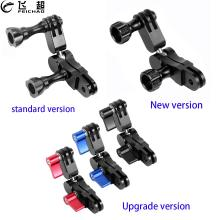 360° Arm Magic Hand Extension Adapter Swivel Joint Helmet Tripod Mount CNC for Gopro Hero 9 8 7 5 for DJI Osmo Action Camera Acc
