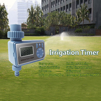 Outdoor Garden Solenoid Valve Timer Automatic Electronic Water Timer Lcd Screen Sprinkler Controller Watering Irrigation Tools