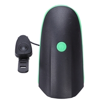 Universal Loud 140Db Electric Bike Bicycle Horn Alarm Bell Safe Cycling Riding Ring Bicycle Components Green