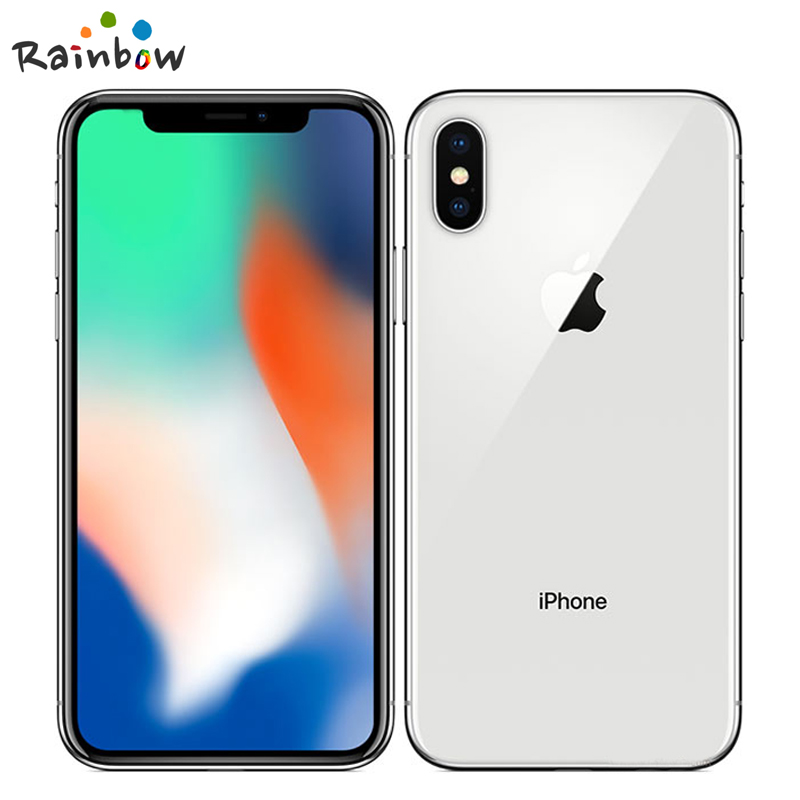 "Original Apple iPhone X 3GB RAM 64GB 256GB ROM 5.8"" iOS Hexa core 12.0MP Dual Back Camera Unlocked 4G LTE Mobile Phone