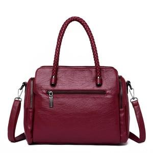 Image 4 - Casual Tote Bag Leather Luxury Handbags Women Bags Designer Handbags High Quality ladies Crossbody Hand Bags For Women 2020 Sac