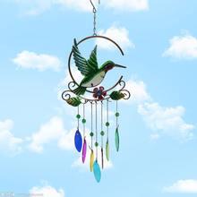 Винтажные ветряные колокольчики колокольчик в форме лошади слона