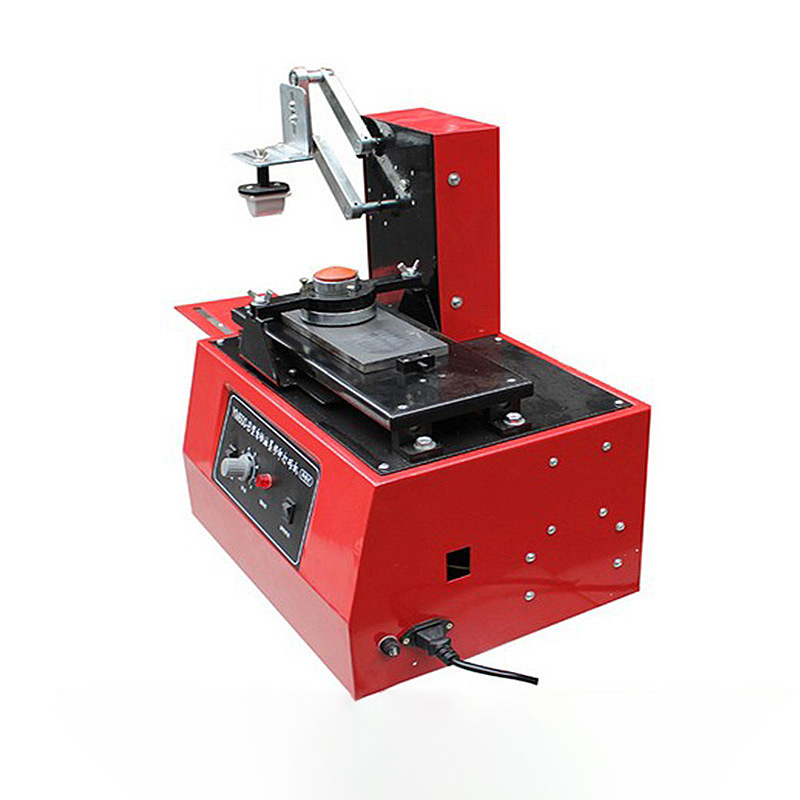Ym600-b 110v 220V Environmental Desktop Electric Pad Printer Round Pad Printing Machine Ink Printer