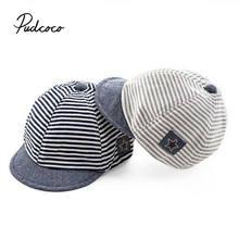 Bebê meninos meninas boina de beisebol crianças boné da criança infantil chapéu pico chapéus de algodão das crianças com capuz ajustável boné de beisebol