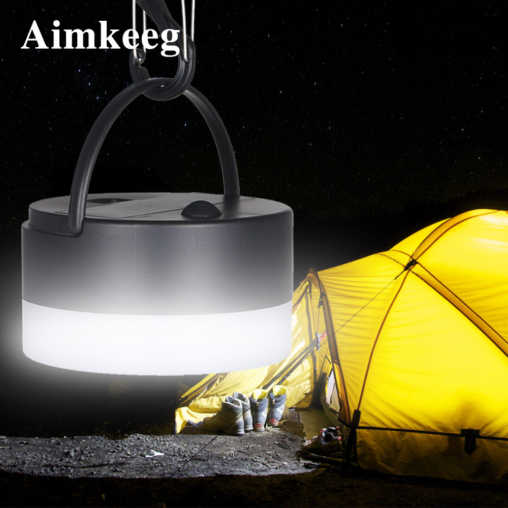 Outdoor Portable Camping Lantern Dimming Camping Flashlight Hangable Tent LED Camping Light Night Lamp Emergency Light with Hook