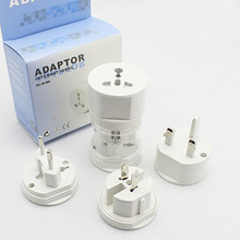 цена на Universal Electrical Conversion Plug Adapter Travel Power Socket Converter Outlet All In One Worldwide Use for US/ UK/ EU/ AU