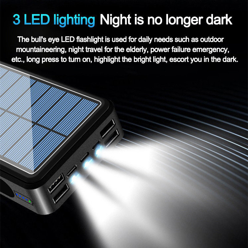 Portable  Solar Power Bank Large  3