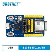 Test-Kit Nrf52811 Blutooth Transparent BLE5.0 CDSENET E104-BT5011A-TB Serial-Port