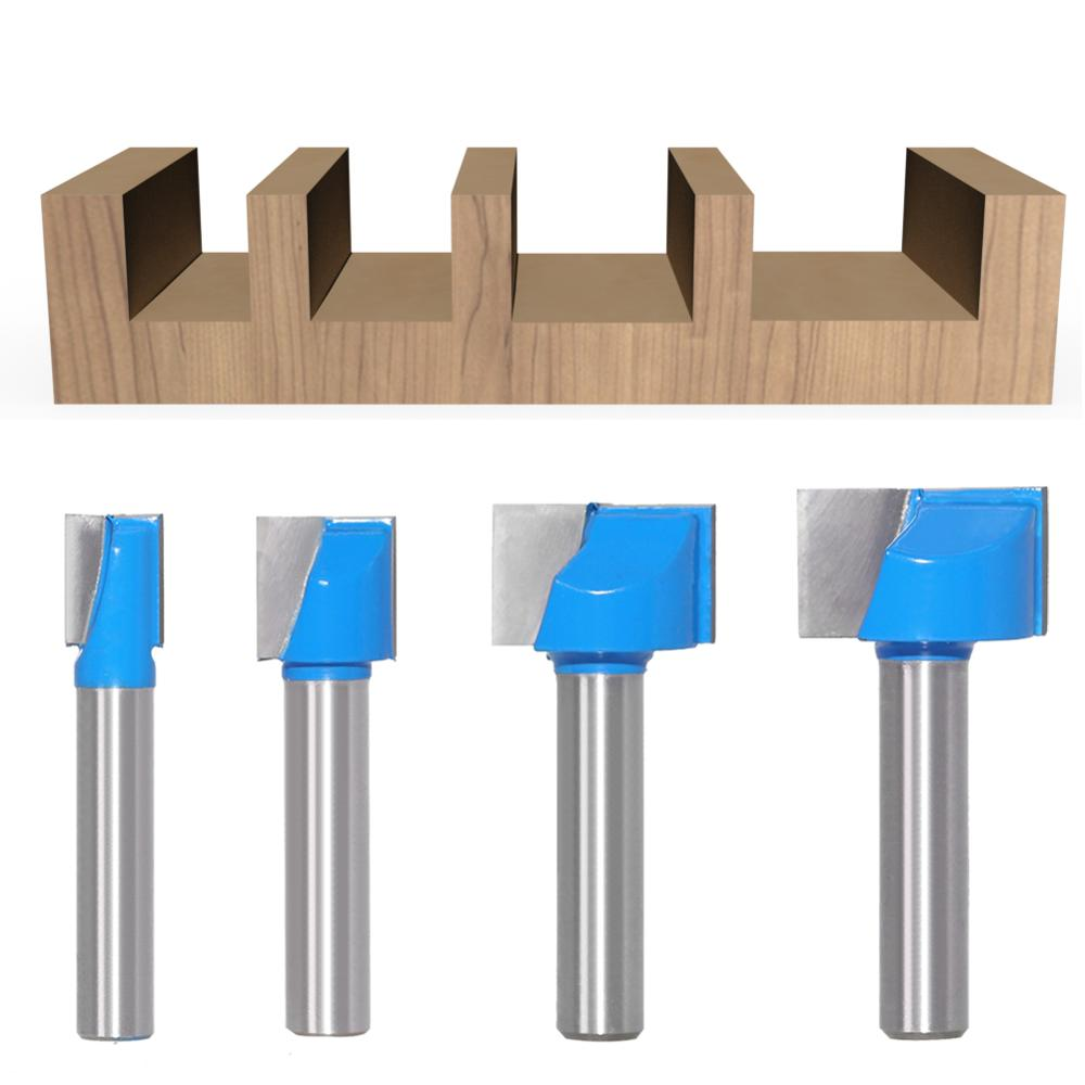 1pc 8mm Cleaning bottom Engraving Bit solid carbide router bit Woodworking