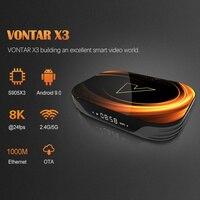 ram 32g VONTAR X3 8K Amlogic S905X3 4GB RAM 64GB טלוויזיה Box Android 9.0 Set Top Box 1000M Dual Wifi 4K Youtube נטפליקס Smart TV Box 4G 32G (3)