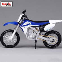 Cheap toys Gifts Maisto 1:12 YZ 450F Assemble DIY Motorcycle Bike Model Dirt Toy Kit Moto Kids Toys Collection