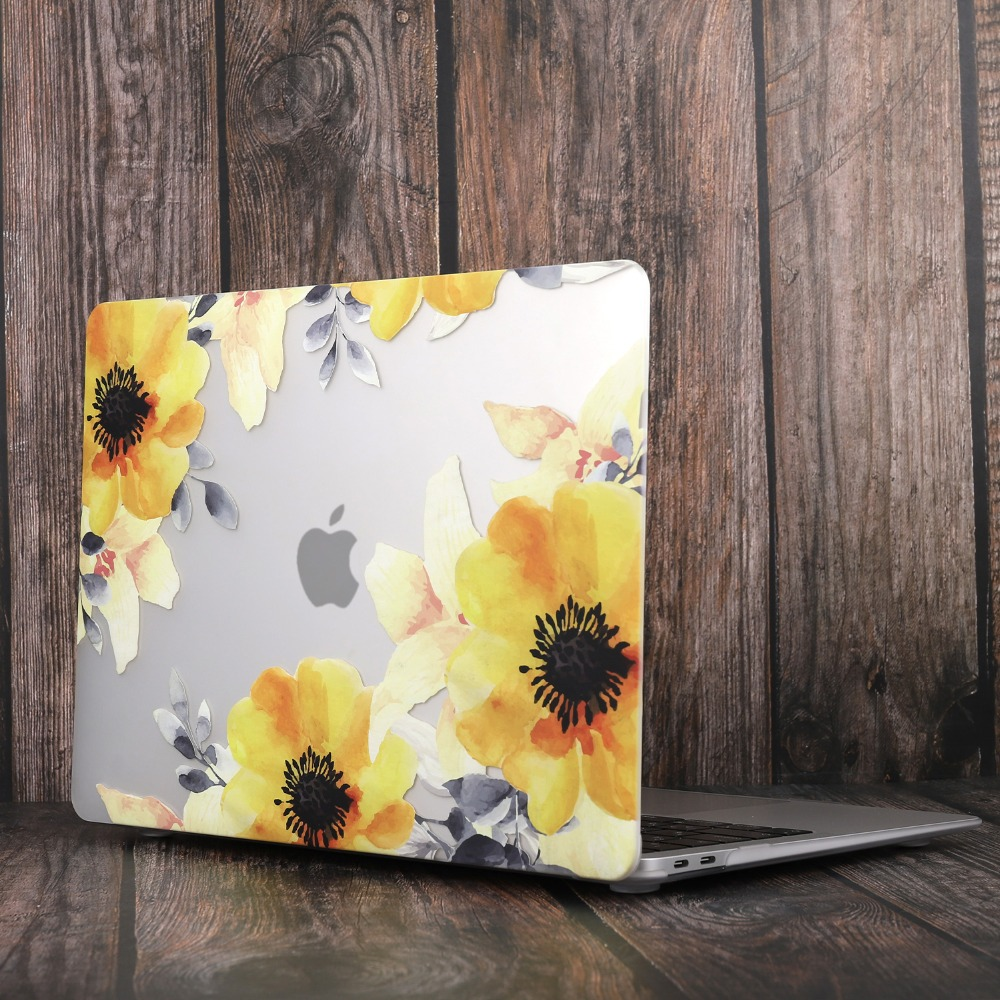 Marble Flower Bling Case for MacBook 93