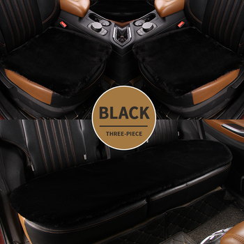 Car Seat Cover Universal Set Mats Plush Protector Cushion Covers Fit Velvet Auto Breathable Back Pad Cars Accessories Interior