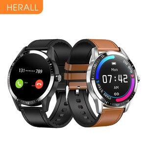 Новые смарт-часы HERALL 2020 с Bluetooth вызовом, умные часы для мужчин и женщин, спортивные фитнес-браслет для Xiaomi Android Huawei Honor iOS