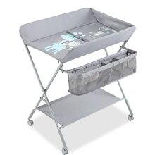 Многофункциональные детские пеленки стол массажный стол для кормления складной пеленальный столик для новорожденных одежда Сенсорное сиденье