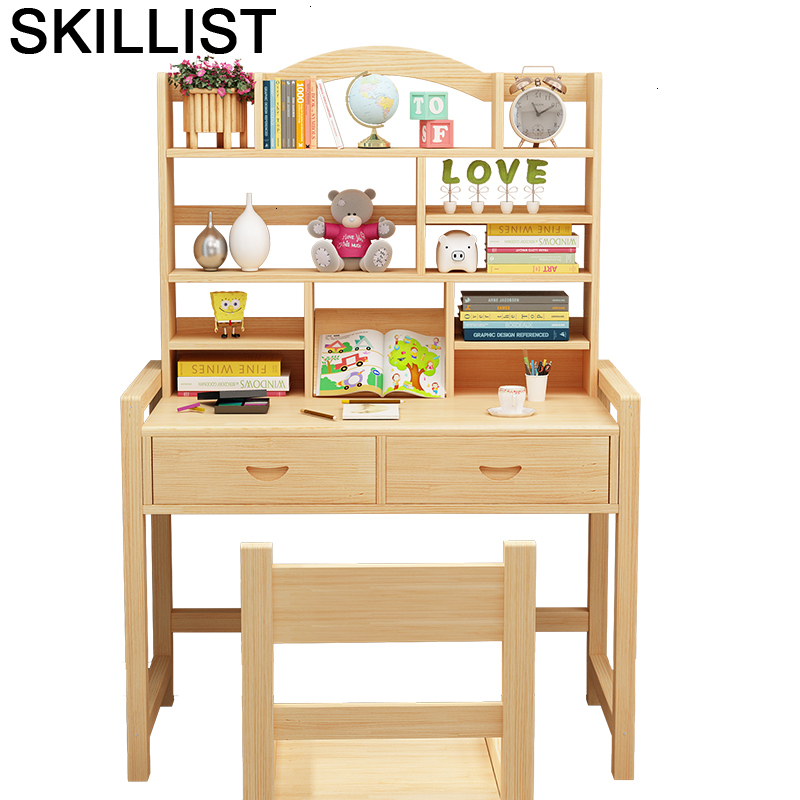 Kindertisch Avec Chaise Children And Chair Child De Estudo Pour Desk Adjustable For Mesa Infantil Bureau Enfant Study Kids Table
