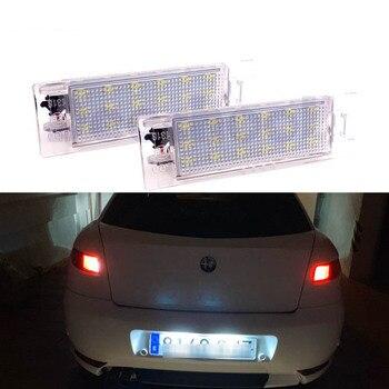Lámparas y bombillas de Led para placa de matrícula Canbus para Alfa...