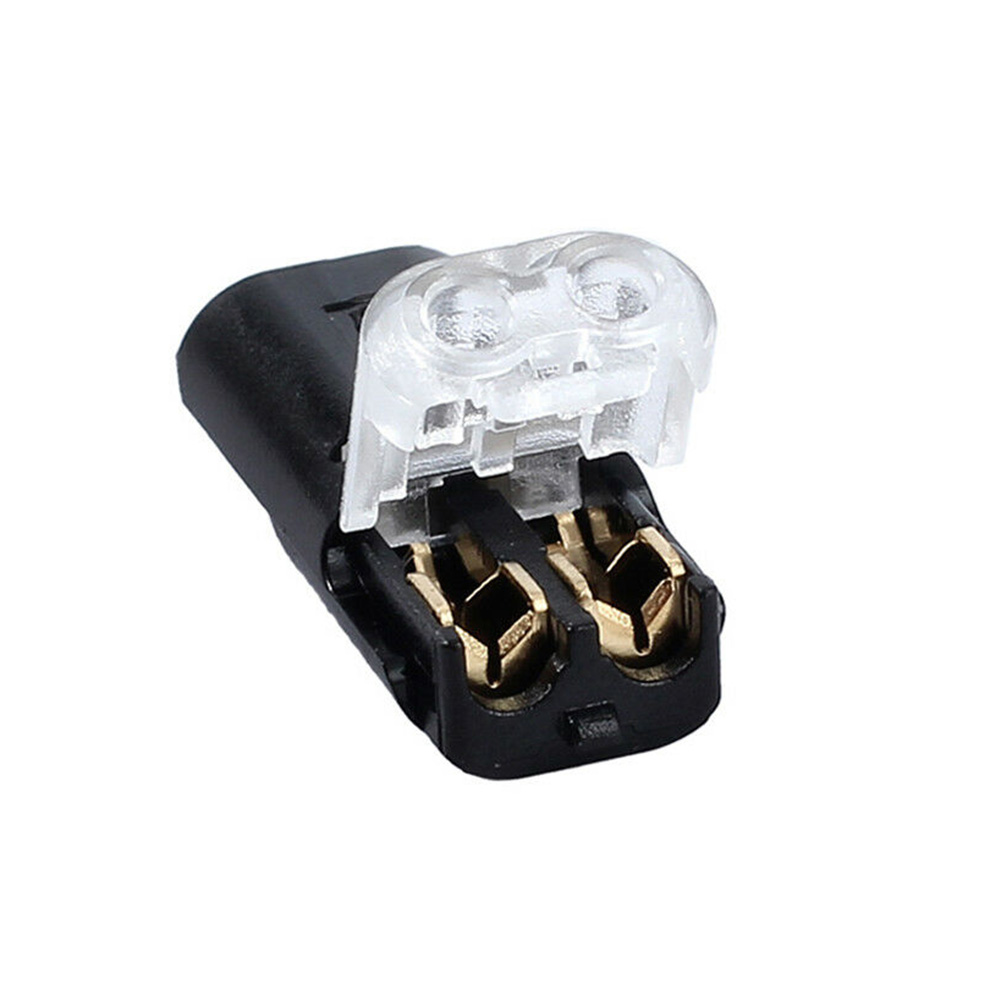 12V Wire Cable Snap Plug In Connector Terminal Connections Joiners Car 10X
