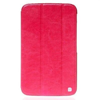 Чехол для Samsung Galaxy Tab 3 8.0 SM T311 Hoco Leather case Crystal Series малиновый|Чехлы для планшетов и электронных книг| | АлиЭкспресс
