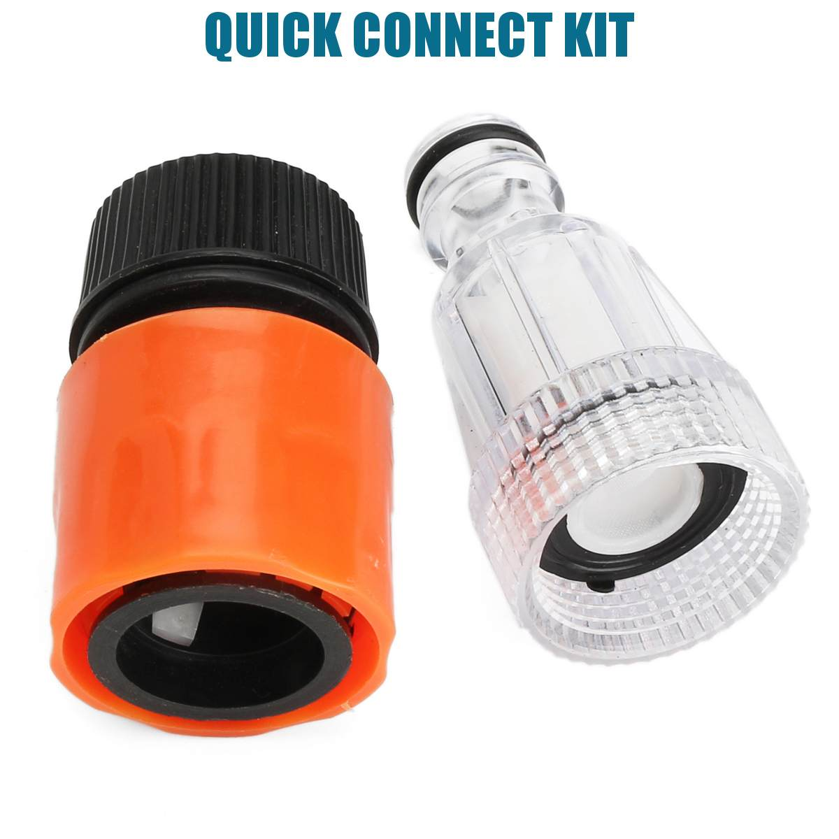 Car Washing Machine Adapter For High Pressure Washer Water Connector Filter Quick Connection Garden Hose Pipe Fitting