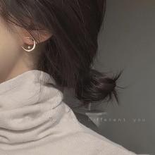 Korean Zircon Small Stud Earrings For Women 2020 Cute Gold Plated Hypoallergenic Dainty Kpop Earings Fashion Jewelry Wholesale