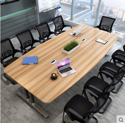 Simple Staff Conference Table Modern Oval Office Desk Simplicity Small Table Computer Long Table Yi Tai