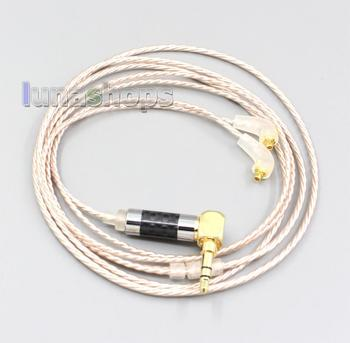 LN006867 Hi-Res Brown XLR 3.5mm 2.5mm 4.4mm Earphone Cable For Etymotic ER4 XR SR ER4SR ER4XR ER3sr er3se