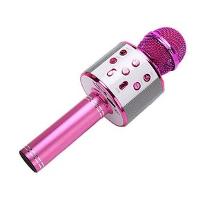 KTV Wireless Karaoke Handheld Microphone USB Player Microphone Speaker with Battery Portable Christmas Birtay Family Party