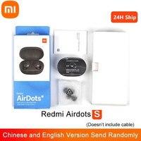 Xiaomi-auriculares Redmi Airdots S con Tws, auriculares inalámbricos con Bluetooth, Control IA, auriculares con micrófono y reducción de ruido, 100% originales