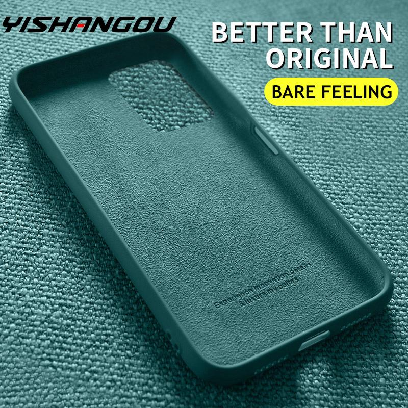Soft Liquid Silicone Case For Samsung Galaxy S20 FE Note 20 Ultra A51 A71 A50 A70 M51 S10 S9 S8 Plus Soft Slim Back Cover Case|Phone Case & Covers| - AliExpress