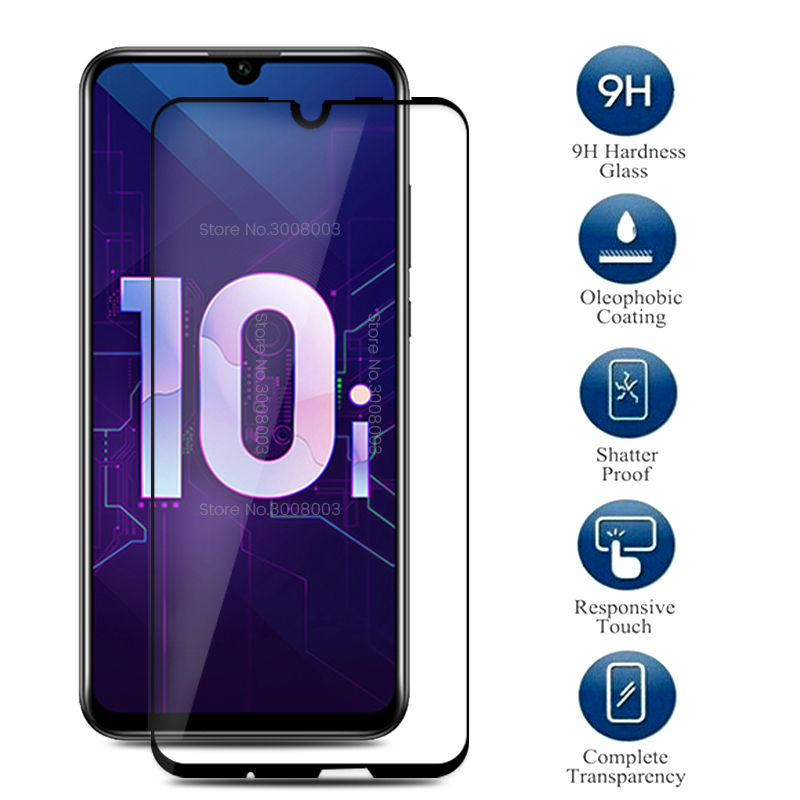 Protective Glass For Honor 10i Safety Glass On Honer Honor 10 I 10i I10 Hry-lx1t 6.21'' Safe Glasses Honor10i Cover Film