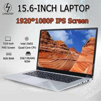 15.6 Inch 8GB RAM 128GB SSD Notebook J3455 Quad Core Laptops FHD 1080P Display Windows 10 Ultrabook EU Plug - DISCOUNT ITEM  23 OFF Computer & Office