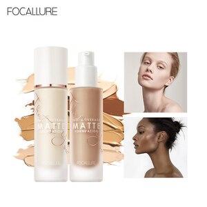 FOCALLURE Convermax Full Coverage Foundation Oil Control Face Makeup 20 Colors Matte Liquid Base Foundation(China)