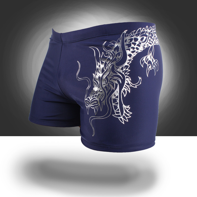 2018 New Listed Men's Europe And America Fashion Beach Shorts Swimming Trunks Hot Selling Hot Sales Swimming Trunks Swimwear