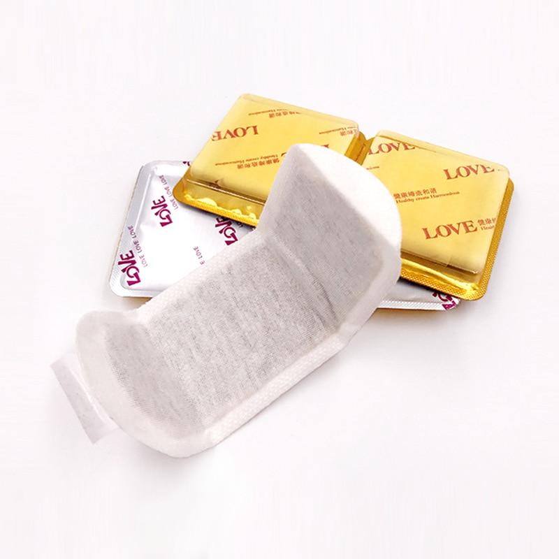Chinese Medicine Daily Sanitary Napkin Hygienic Pads Tampons Antibacterial Detoxing Antipruritic Snow Lotus Pads
