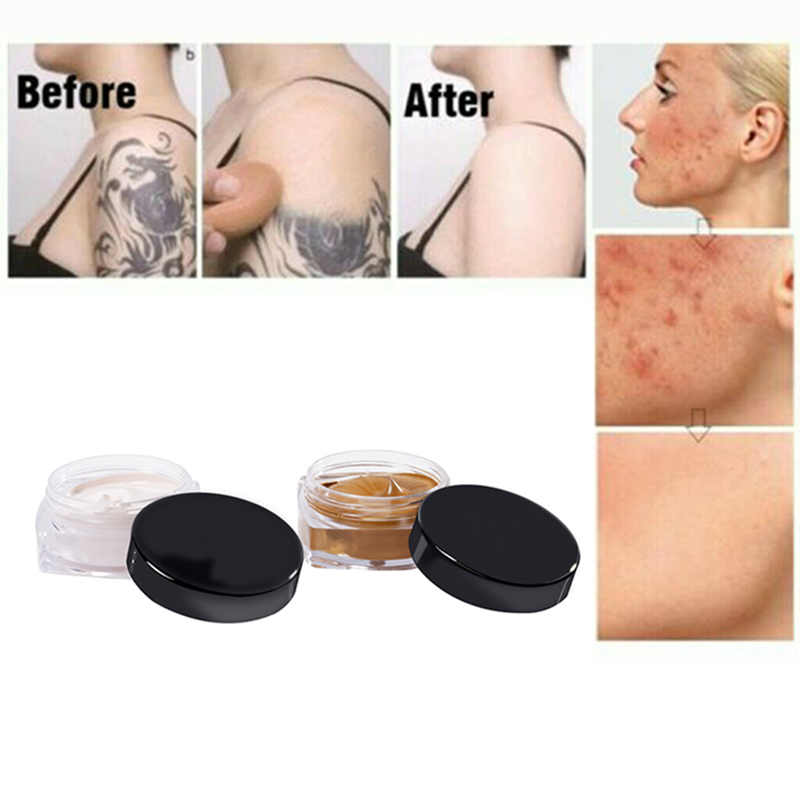 High Quality 2PCS Universal Waterproof Concealer Moisturizing Cover For Blemish Scar Spot Tattoo