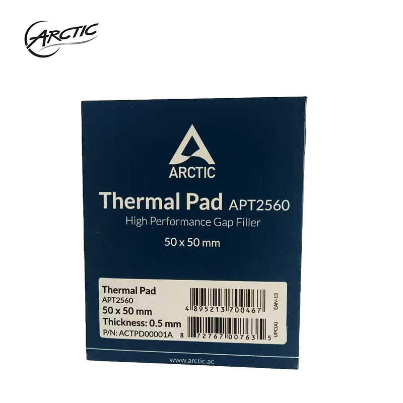 Original ARCTIC Thermal Pad 6.0 W/mK Conductivity 0.5mm 1.0mm 1.5mm Thickness High Efficient Thermal Pad 50x50mm