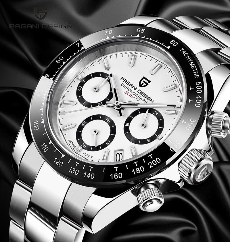 PAGANI DESIGN new men's watch business sports quartz men's stainless steel waterproof watch tide brand|Quartz Watches| - AliExpress
