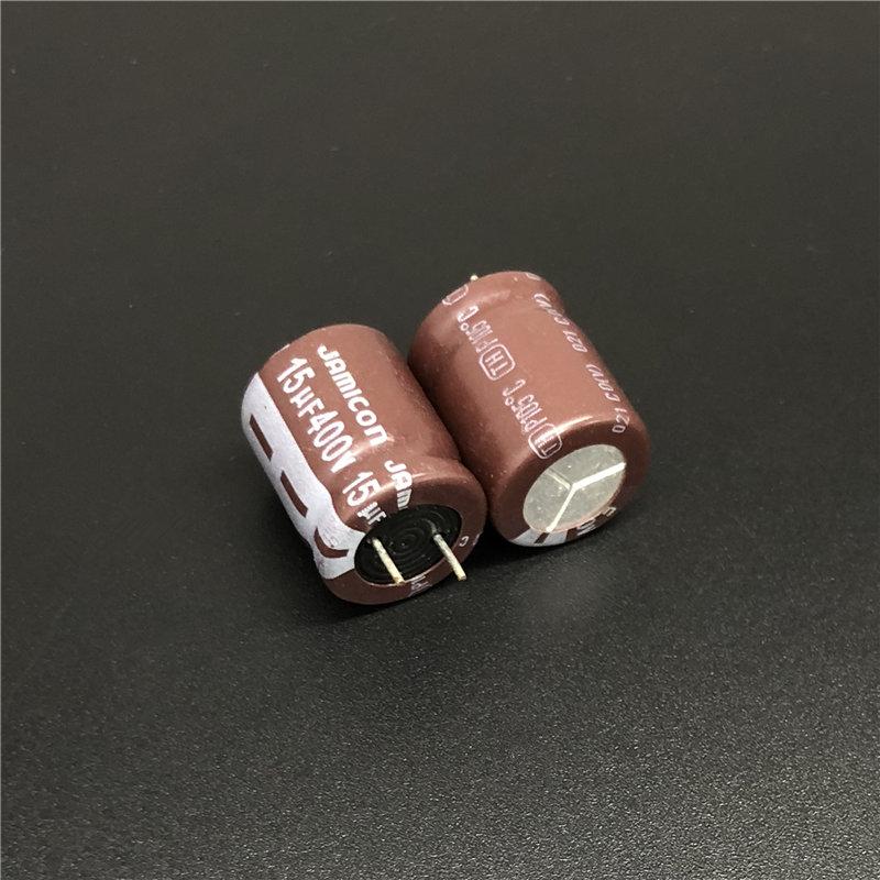 5pcs/50pcs 15uF 400V JAMICON TH Series 12.5x15mm Low ESR Long Life 400V15uF Aluminum Electrolytic Capacitor