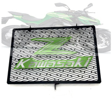Free shipping worldwide Kawasaki Z800 2013-2015 Z1000 2003-2016 Motorcycle Stainless Steel Radiator Grille Guard new stainless steel motorcycle accessories radiator guard cover grille grill fuel tank protector for r3 2015 2016 free shipping