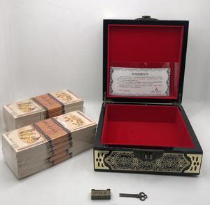 1000 pièces chinois Dragon et Phoenix 100 Quintillion papier billets de banque avec belle boîte noire pas de monnaie Anti-faux billets de collection